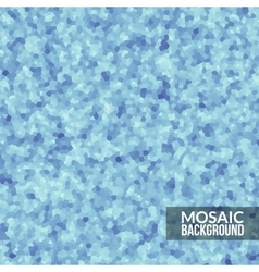 Abstract blue voronoi mosaic wallpaper texture in vector