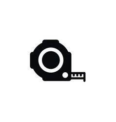 isolated roulette icon instrument element vector image vector image