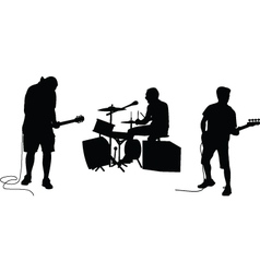 Music band vector