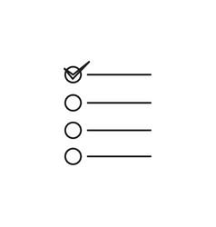 Task icon vector