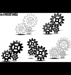 Sprocket wheel vector