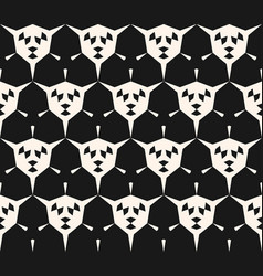 abstract geometric seamless pattern angular shape vector image