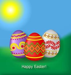 egg sky vector image vector image