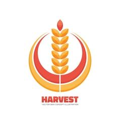 Harvest logo concept sign vector
