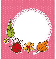 Spring frame vector