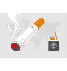 World of smokers vector