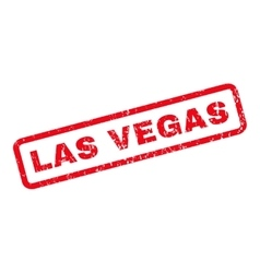 Las vegas rubber stamp vector