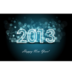2013 - new year background vector image