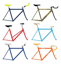 Bicycle frame vector