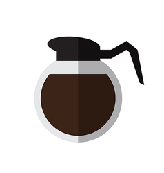 Coffee pot vector