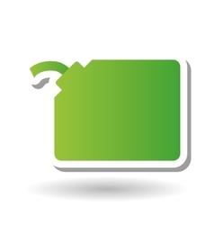 Bio oil design vector
