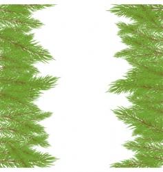 Christmas fur tree illustration vector