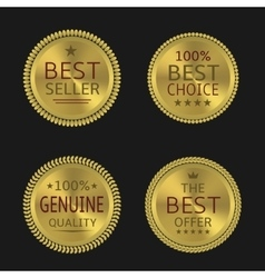 Golden label set vector