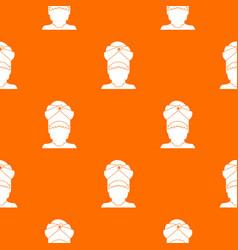 indian man pattern seamless vector image