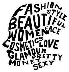 Woman life concept vector