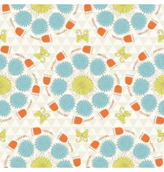 Sunshine pattern vector