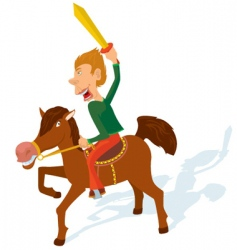Cavalry games vector