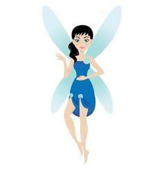 Blue fairy vector