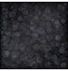 Bokeh Dark Background vector image