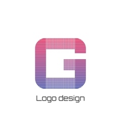 logo g vector image