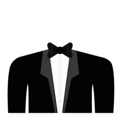 Cloth suit necktie male man icon graphic vector