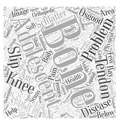 Orthopaedic problems in adolescents word cloud vector