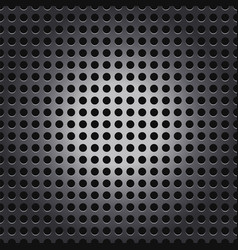 shiny silver metal mesh grid background vector image