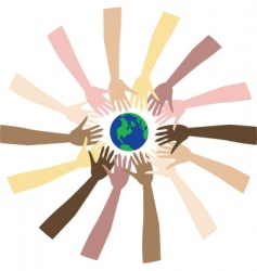 world peace vector image vector image
