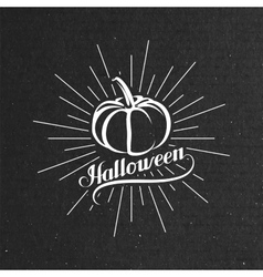 Halloween pumpkin holiday vector