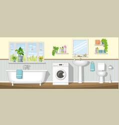 A bathroom vector