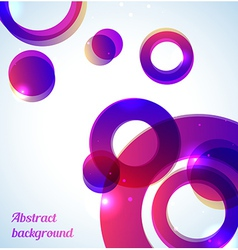 Bright purple background vector image vector image