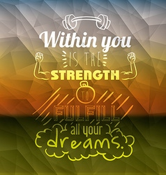 Encourage quotes design vector