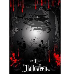 Blood HAlloween2 vector image