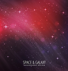 Cosmos background vector