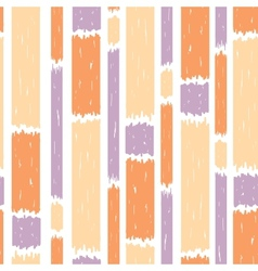 Blue paint vertical stripes seamless pattern vector image