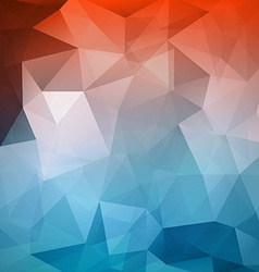 Abstract geometric polygonal mesh wire background vector