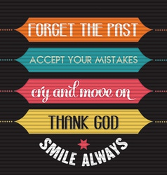With phrase smile alwaysl vector