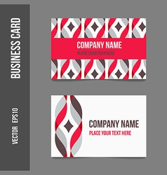 Corporate business cards vector