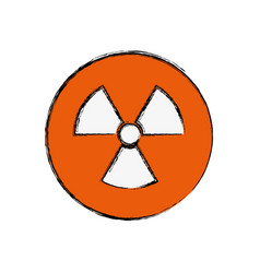 Nuclear sign advert vector
