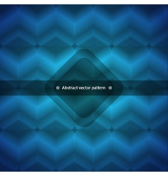Geometric abstract background in blue vector