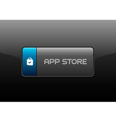 App store buttons vector