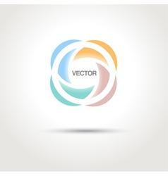Abstract creative logo template vector image vector image