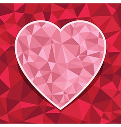 Heart decoration vector