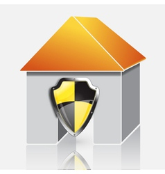home protection concept vector image