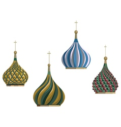 Russian objects vector image