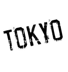 Tokyo stamp rubber grunge vector