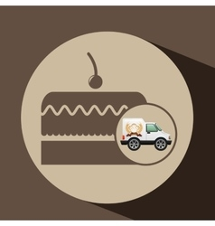 Transport of cakes vector