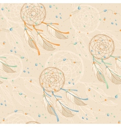 Dreamcatcher pattern vector
