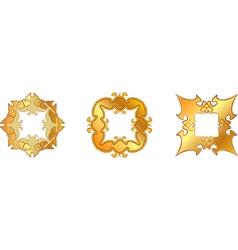 Gold symbol vector