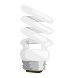 Saving bulbs electric bright vector